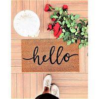 Hello lábtörlő, 70 x 40 cm - Doormat