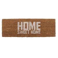 Home Sweet Coir lábtörlő fehér felirattal, 75 x 26 cm - PT LIVING