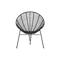 Jane fekete kerti fotel - WOOOD