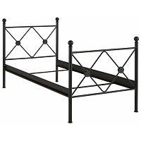 Johnson fekete egyszemélyes ágy, 90 x 200 cm - Støraa