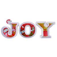 Joy 3 tányér karácsonyi motívummal - Silly Design