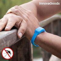 Kék repelent karkötő citromillattal, szúnyogok ellen - InnovaGoods