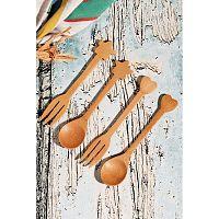 Kutahya 4 részes bambusz evőeszköz szett
