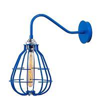 Lantern Cage kék falilámpa