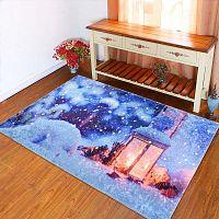 Lantern kék szőnyeg, 80 x 150 cm - Vitaus