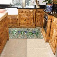 Lavender fokozottan ellenálló konyhai szőnyeg, 60 x 240 cm - Webtappeti