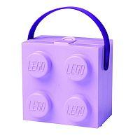 Lila tárolódoboz fogantyúval - LEGO®