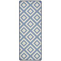 Loop Diamond kék konyhai futószőnyeg, 67 x 180 cm - Hanse Home