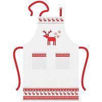 Magic Christmas karácsonyi mintás pamut kötény - PPD