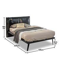 Manly egyszemélyes ágy, 135 x 220 cm - Unknown