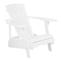 Maria fehér fából készült kültéri szék - Safavieh