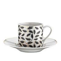 Meddi, 50 ml 6 részes porcelán csésze és alj szett, 50 ml - Kutahya