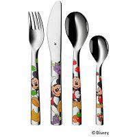 Mickey Mouse 4 darabos gyerek, rozsdamentes evőeszközkészlet - WMF