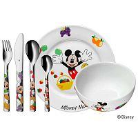 Mickey Mouse 6 darabos rozsdamentes, gyerek evőeszköz- és étkészlet - WMF