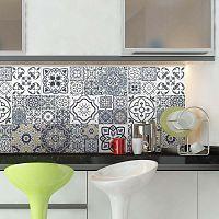 Milonga 60 részes dekoratív falmatrica szett, 10 x 10 cm - Ambiance