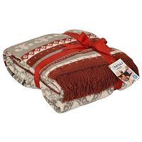 Mistic piros takaró pamut keverékből, 200 x 150 cm - Aksu