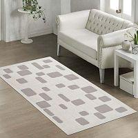 Mozaik Bej ellenálló szőnyeg, 80 x 200 cm - Vitaus