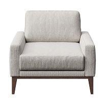 Musso világos szürke fotel - MESONICA