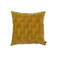 Mustár-sárga pamut díszpárna, 50x50cm - BePureHome