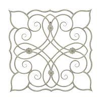 Naxos fali dekoráció fémből, 68,5 cm x 68,5 cm - Mauro Ferretti