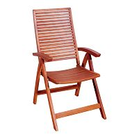 Oregon összecsukható kerti szék, eukaliptuszból - ADDU