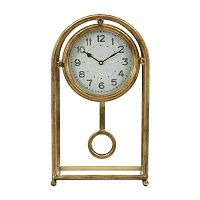 Pendol aranyszínű asztali óra - Mauro Ferretti