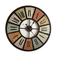 Pendule Multi falióra, Ø 75 cm - Antic Line