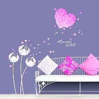 Pink Hearts matrica - Ambiance
