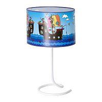 Pirates Blue gyerek asztali lámpa - Glimte