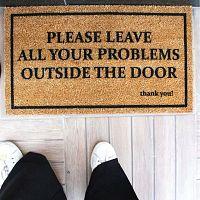 Problems lábtörlő, 70 x 40 cm - Doormat
