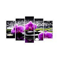 Purple Blossom többrészes falikép