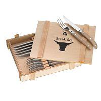 Ranch 12 darabos kés- és villakészlet steakhez - WMF