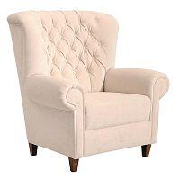 Recliner Vicky Velour Cream krém színű fotel - Max Winzer