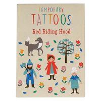 Red Riding Hood lemosható tetoválás szett - Rex London