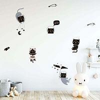 Scandinavian Animals Cosmonaut Cats gyerek falmatrica szett - Ambiance