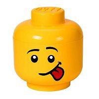 Silly L sárga fejformájú tárolódoboz - LEGO®