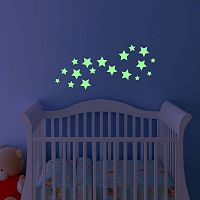Simple Stars sötétben világító matrica - Ambiance