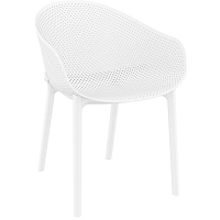 Sky fehér kerti fotel, 4 darab - Resol
