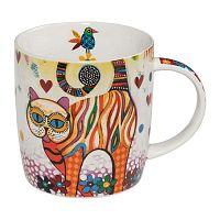 Smile Style Tabby porcelán bögre, 400 ml - Maxwell & Williams