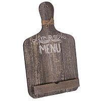 So Decouper vágódeszka alakú tablettartó állvány - Antic Line