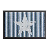 Star Stripes Blue lábtörlő, 40 x 60 cm - Hanse Home