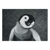 StateMat Penguin szürke lábtörlő, 50 x 75cm - Hanse Home