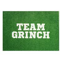 StateMat Team Grinch zöld lábtörlő, 50 x 75 cm - Mint Rugs
