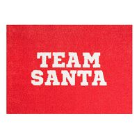 StateMat Team Santa piros lábtörlő, 50 x 75 cm - Mint Rugs