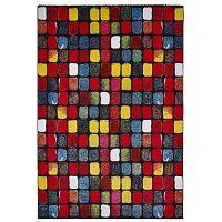Sunrise kockás szőnyeg, 160 x 220 cm - Think Rugs