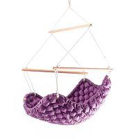 Swingy In lila beltéri függőszék - Linda Vrňáková