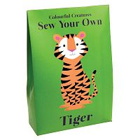 Tiger plüss tigris varrókészlet - Rex London