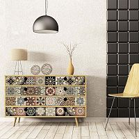 Tiles Stickers For Furniture Cineloto Mento 30 db-os bútor matrica szett, 20 x 20 cm - Ambiance