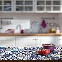 Tiles Stickers For Furniture Lubina 30 db-os bútor matrica szett, 15 x 15 cm - Ambiance