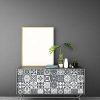 Tiles Stickers For Furniture Willema 60 db-os bútor matrica szett, 15 x 15 cm - Ambiance